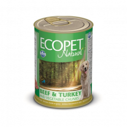 Farmina MO P ECOPET dog Bicolore Beef & Turkey & Vegetables 405 g konzerva